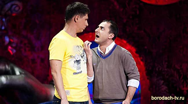 Демис Карибов и Тимур Батрутдинов в Comedy Club