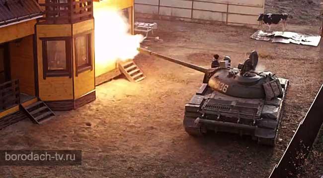 Угнал танк